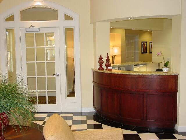Dr. Bakeman's Reception Area